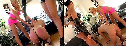 Femdom spanking torture