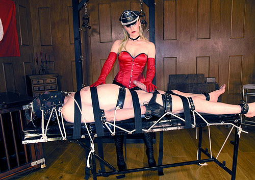 Femdom electro torture
