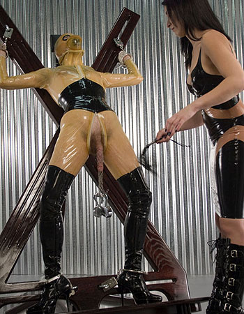 femdom torture Latex