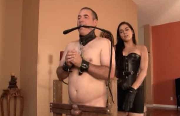 Mistress enjoys her cbt 1